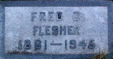 FLESHER, FRED C. - Warren County, Iowa | FRED C. FLESHER