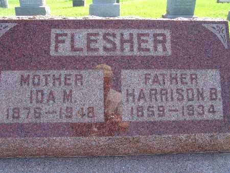 FLESHER, IDA M - Warren County, Iowa | IDA M FLESHER