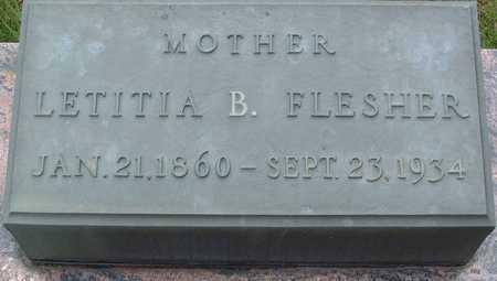 FLESHER, LETITA B. - Warren County, Iowa | LETITA B. FLESHER