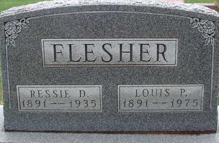 FLESHER, LOUIS P. - Warren County, Iowa | LOUIS P. FLESHER