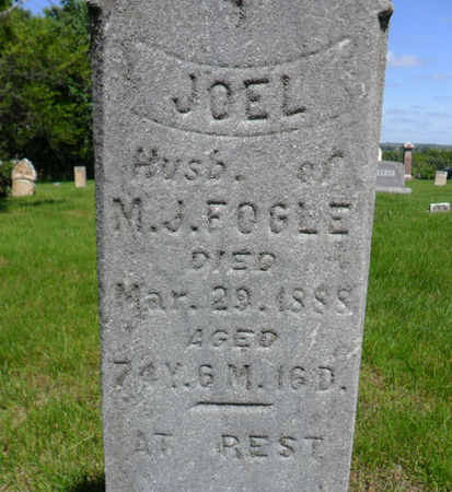 FOGLE, JOEL - Warren County, Iowa | JOEL FOGLE
