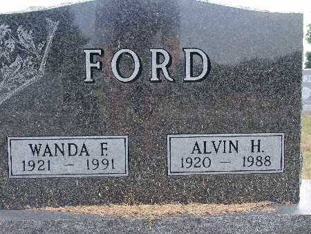 FORD, WANDA F. - Warren County, Iowa | WANDA F. FORD