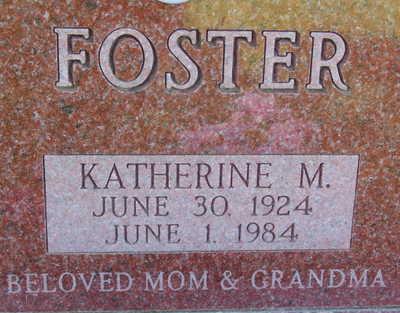 FOSTER, KATHERINE M - Warren County, Iowa | KATHERINE M FOSTER