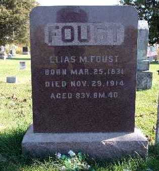 FOUST, ELIAS M. - Warren County, Iowa | ELIAS M. FOUST