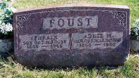 BISHOP FOUST, ADDIE M. - Warren County, Iowa | ADDIE M. BISHOP FOUST