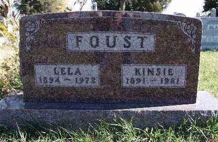 FOUST, LELA - Warren County, Iowa | LELA FOUST