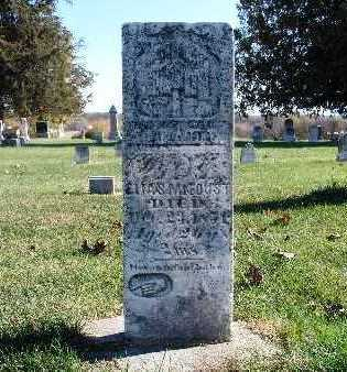 BISHOP FOUST, SARAH E. - Warren County, Iowa | SARAH E. BISHOP FOUST