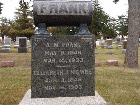 FRANK, A. M. - Warren County, Iowa | A. M. FRANK