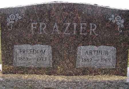FRAZIER, FREEDOM - Warren County, Iowa   FREEDOM FRAZIER