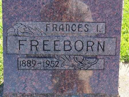 FREEBORN, FRANCES I - Warren County, Iowa | FRANCES I FREEBORN