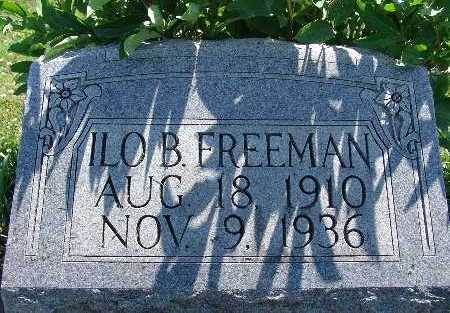 FREEMAN, ILO B. - Warren County, Iowa | ILO B. FREEMAN