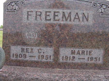 FREEMAN, MARIE - Warren County, Iowa | MARIE FREEMAN