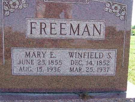 FREEMAN, MARY E. - Warren County, Iowa | MARY E. FREEMAN