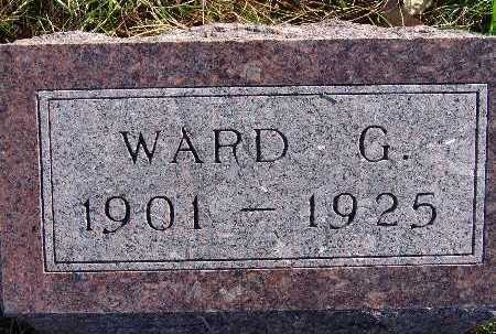 FREEMAN, WARD G. - Warren County, Iowa   WARD G. FREEMAN