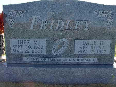 FRIDLEY, DALE D. - Warren County, Iowa | DALE D. FRIDLEY