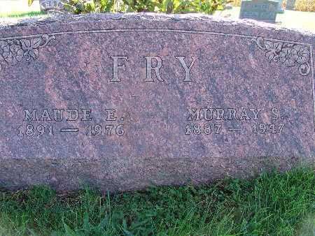FRY, MAUDE E. - Warren County, Iowa | MAUDE E. FRY