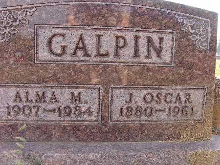 GALPIN, ALMA M. - Warren County, Iowa | ALMA M. GALPIN