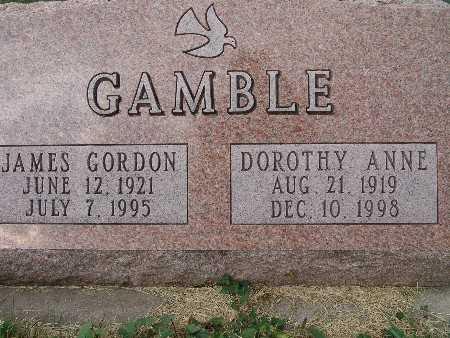GAMBLE, JAMES GORDON - Warren County, Iowa   JAMES GORDON GAMBLE