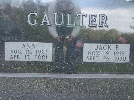 GAULTER, JACK P. - Warren County, Iowa | JACK P. GAULTER