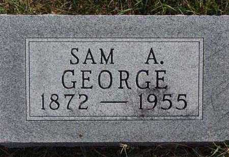 GEORGE, SAM A. - Warren County, Iowa | SAM A. GEORGE
