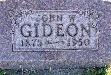 GIDEON, JOHN W. - Warren County, Iowa | JOHN W. GIDEON