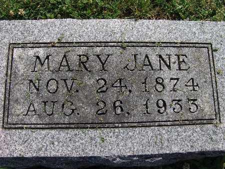 GILBERT, MARY JANE - Warren County, Iowa | MARY JANE GILBERT