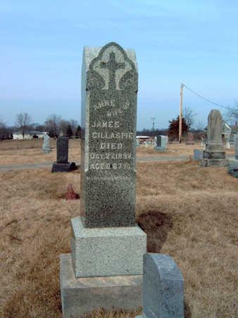 KIERNAN GILLASPIE, ANNE - Warren County, Iowa   ANNE KIERNAN GILLASPIE