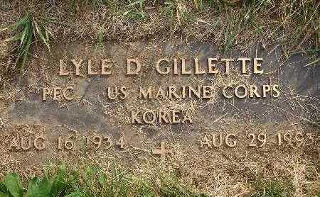 GILLETTE, LYLE D - Warren County, Iowa | LYLE D GILLETTE