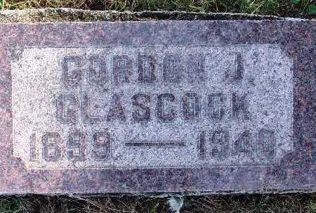 GLASCOCK, GORDON J. - Warren County, Iowa   GORDON J. GLASCOCK
