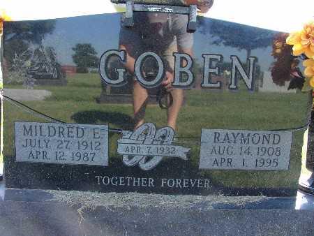 GOBEN, RAYMOND - Warren County, Iowa   RAYMOND GOBEN