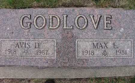 GODLOVE, MAX E. - Warren County, Iowa | MAX E. GODLOVE