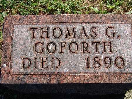 GOFORTH, THOMAS G - Warren County, Iowa | THOMAS G GOFORTH