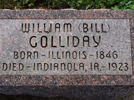 GOLLIDAY, WILLIAM BILL - Warren County, Iowa | WILLIAM BILL GOLLIDAY