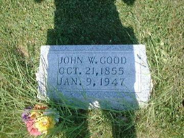 GOOD, JOHN WESLEY - Warren County, Iowa | JOHN WESLEY GOOD