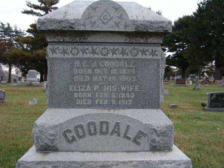 GOODALE, H. C. J. - Warren County, Iowa | H. C. J. GOODALE