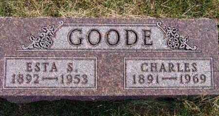 GOODE, ESTA S. - Warren County, Iowa | ESTA S. GOODE