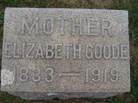 WALTON GOODE, ELIZABETH - Warren County, Iowa | ELIZABETH WALTON GOODE