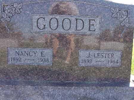 GOODE, NANCY E. - Warren County, Iowa | NANCY E. GOODE