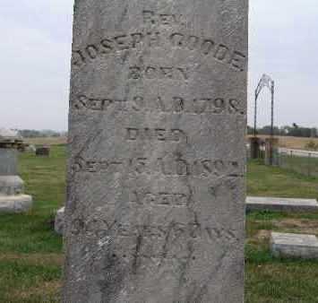GOODE, JOSEPH - Warren County, Iowa | JOSEPH GOODE