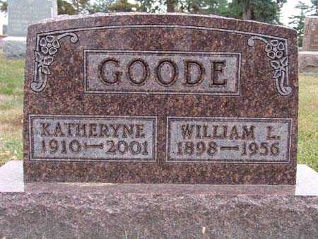 GOODE, WILLIAM L. - Warren County, Iowa | WILLIAM L. GOODE