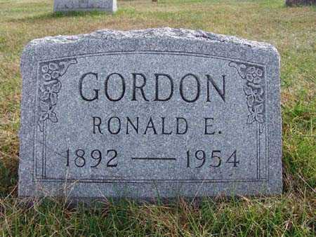 GORDON, RONALD E. - Warren County, Iowa | RONALD E. GORDON