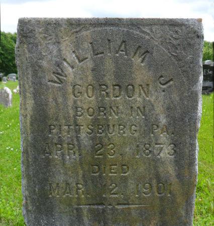 GORDON, WILLIAM J. - Warren County, Iowa | WILLIAM J. GORDON