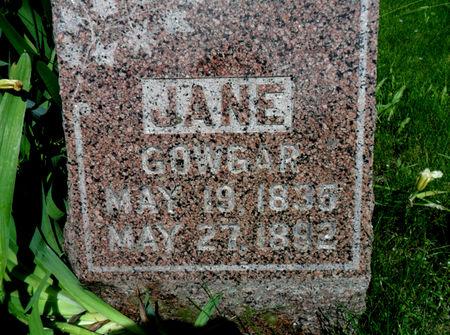 GOWGAR, JANE - Warren County, Iowa | JANE GOWGAR