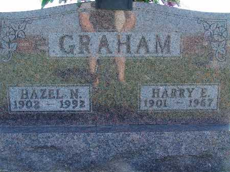 GRAHAM, HAZEL N - Warren County, Iowa | HAZEL N GRAHAM