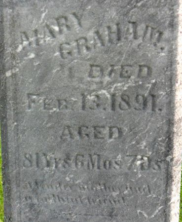 GRAHAM, MARY - Warren County, Iowa | MARY GRAHAM