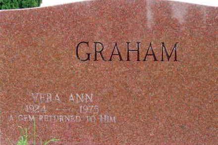 GRAHAM, VERA ANN - Warren County, Iowa | VERA ANN GRAHAM