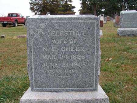 GREEN, CELLESTIAL - Warren County, Iowa   CELLESTIAL GREEN