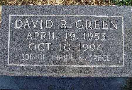 GREEN, DAVID R. - Warren County, Iowa | DAVID R. GREEN