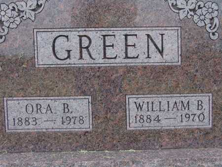 GREEN, WILLIAM B. - Warren County, Iowa | WILLIAM B. GREEN