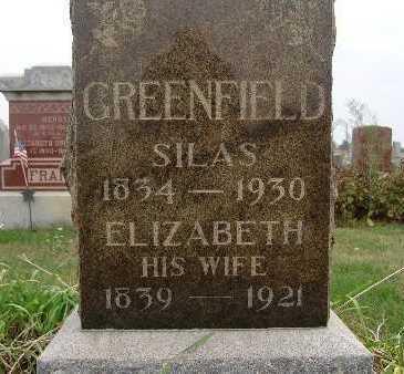 GREENFIELD, SILAS - Warren County, Iowa | SILAS GREENFIELD